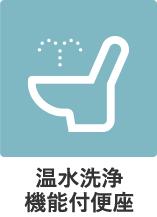 温水洗浄機能付便座