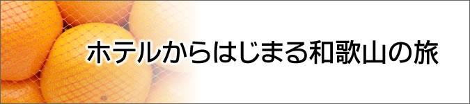 ホテルを拠点に「大阪泉南」・「和歌山近郊」の旅