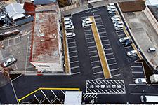 大型平面駐車場