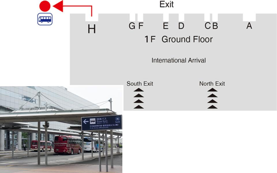 간사이 공항 호텔 셔틀 픽업 장소