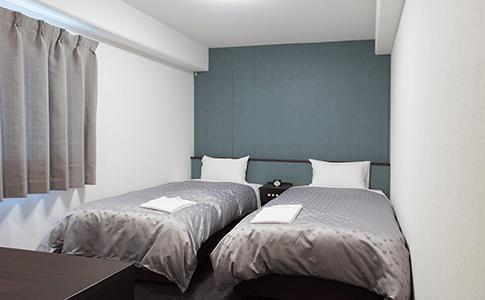 小型雙人房 (2張單人床)