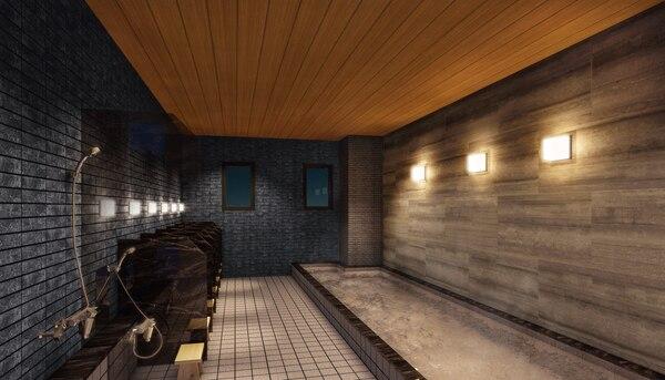 アストン広島 風呂