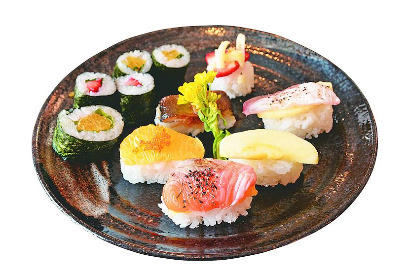 フルーツ寿司